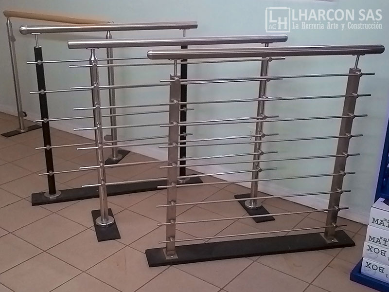 Carpinter a acero inoxidable la herrer a arte y construcci n for Barandas de acero